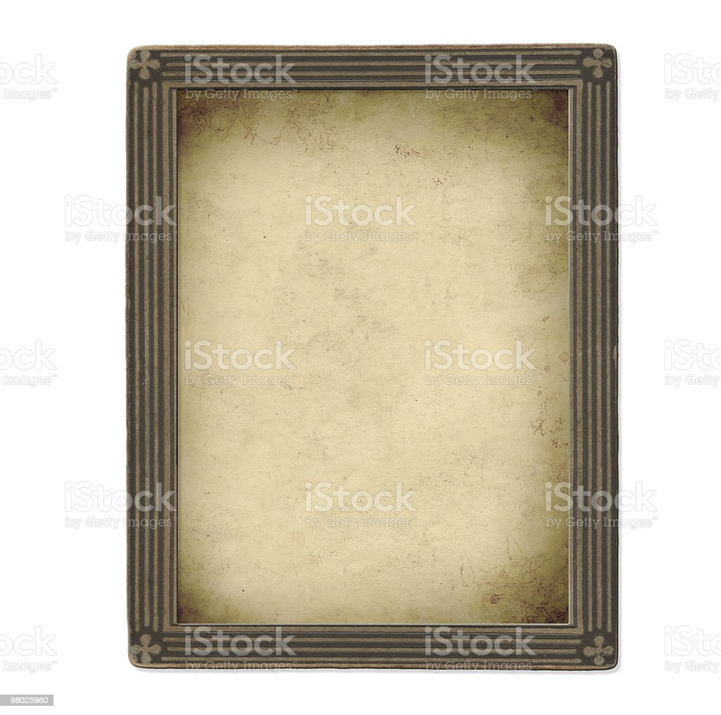 Vintage photo frame royalty-free stock photo