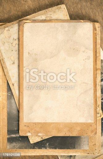 istock Vintage photo frames 176101038