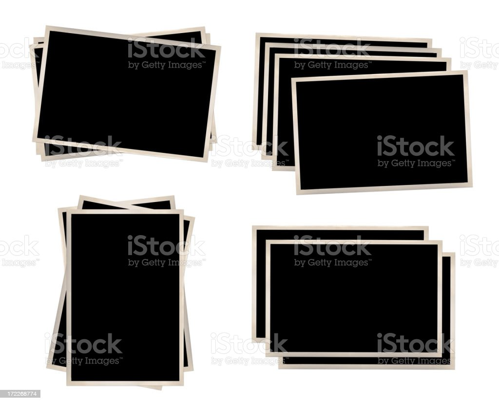 Vintage Photo Frames XXXL royalty-free stock photo