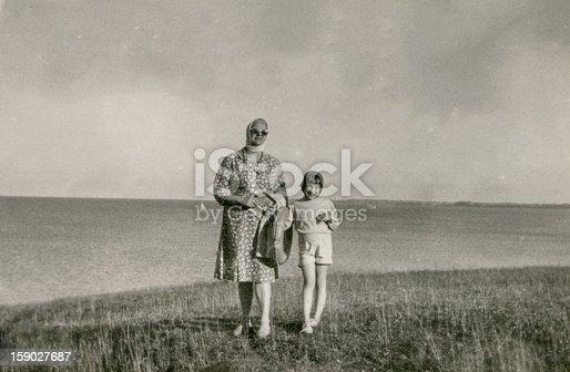 Fifties, Poland, Baltic seaside