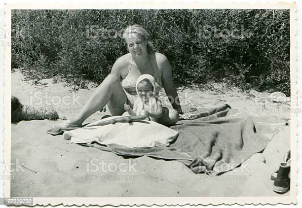 Vintage photo of mother and daughter on beach picture id177239732?b=1&k=6&m=177239732&s=612x612&h=mtwrxt3uyji2ozxxiyrifagxckrvwu9hhsvytmnbr8y=