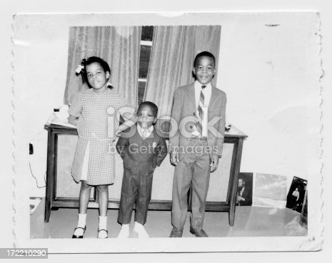 vintage photo of siblings all dressed up.PLEASE EMAIL ME TO LET ME KNOW HOW THIS IS USED.  THANKS!