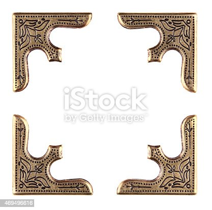 istock Vintage Photo or Album Corners 469496616