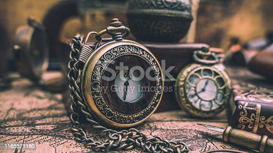 Antique Watch Necklace Vintage Collection