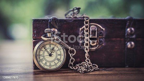 Vintage Watch And Treasure Box