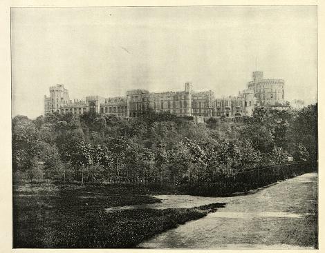 The long, long way, Windsor Great Park, Englefield Green