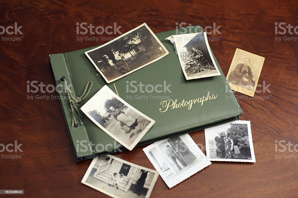Vintage Photos stock photo