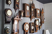 Antique Wooden Clock Wall Collection