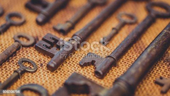 Old Rust Keys