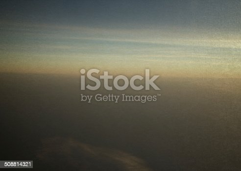 istock vintage picture Sky and clouds at sunset 508814321