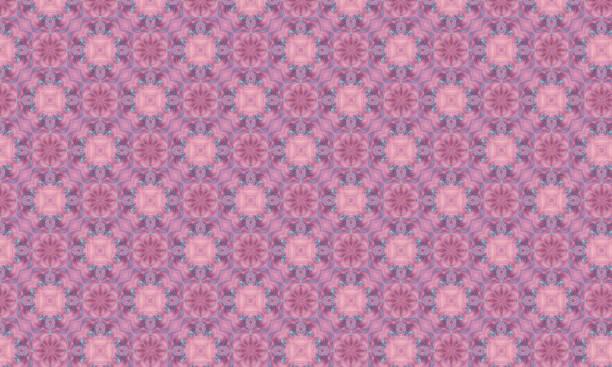 vintage rose victorien damask wallpaper - damas en matière textile photos et images de collection