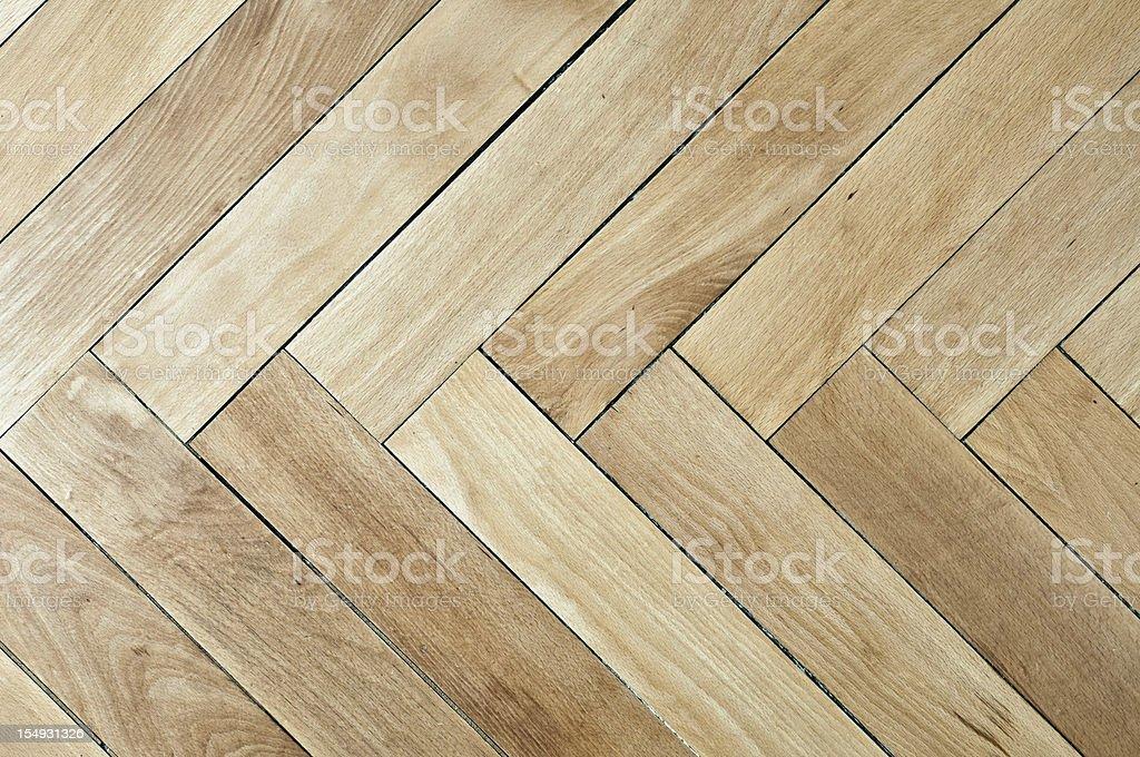 Vintage plain wooden parquet floor royalty-free stock photo