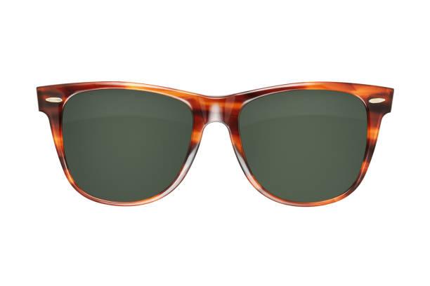 Vintage plastic sunglasses stock photo