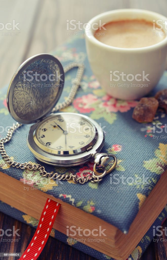 Vintage pocket watch royalty-free stock photo