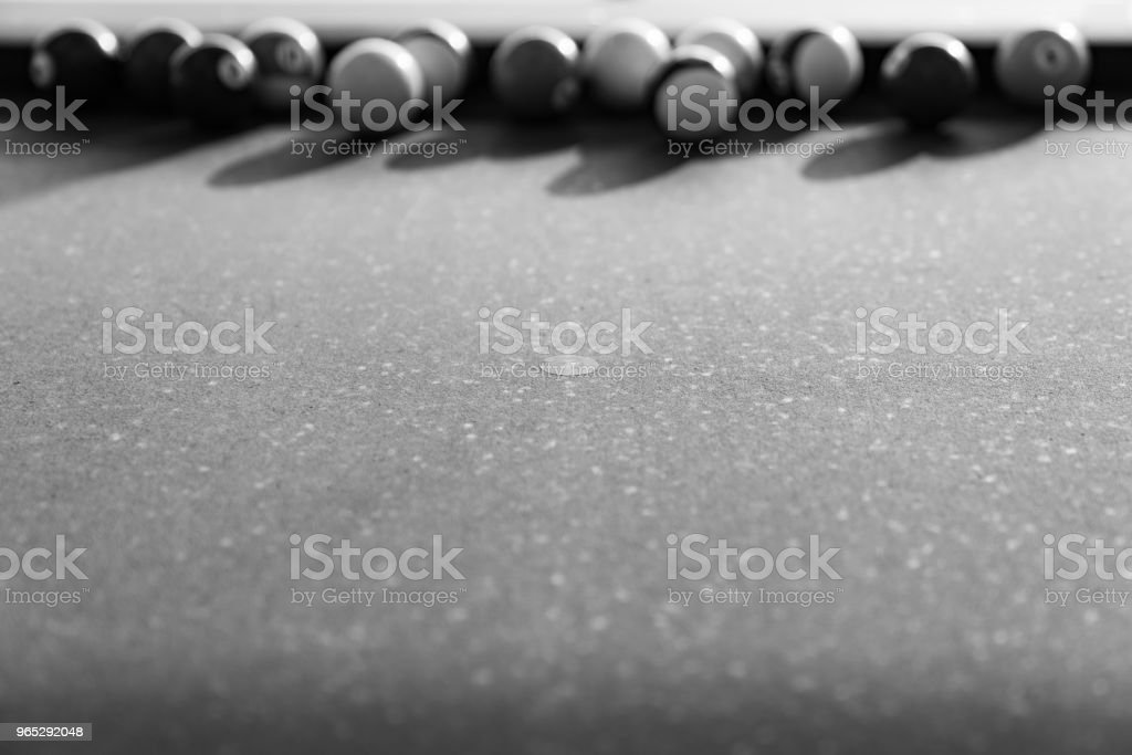 Vintage pool ball. royalty-free stock photo