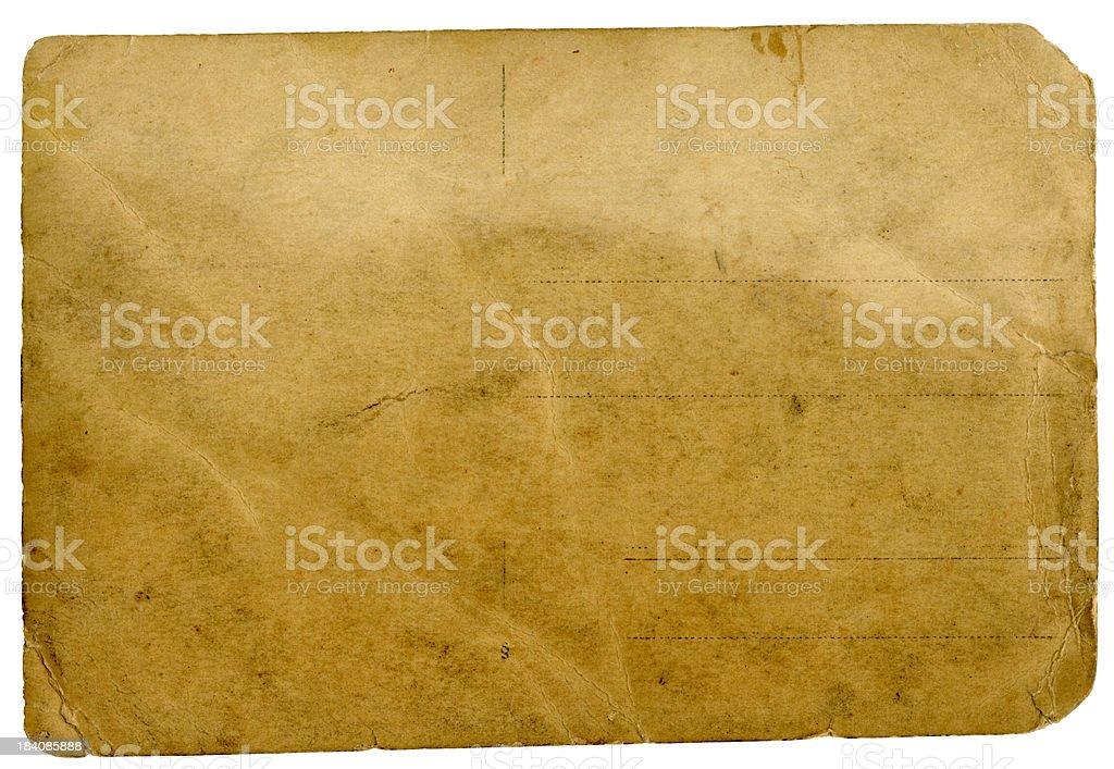 Vintage Post card 2. XXLarge royalty-free stock photo