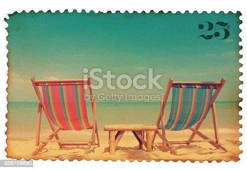istock Vintage postage stamp 639759890
