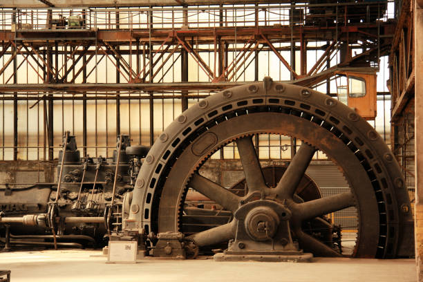 vintage power generator  20th century history stock pictures, royalty-free photos & images