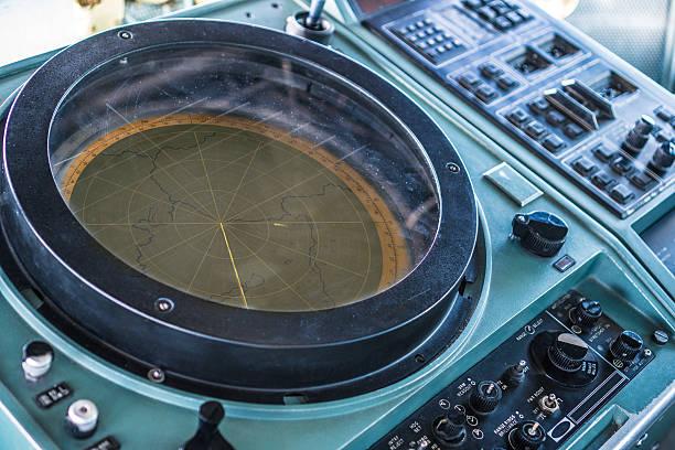 Vintage Radar - foto de acervo