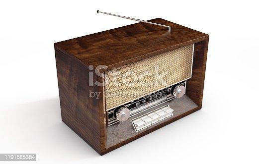 istock Vintage Radio 1191585384