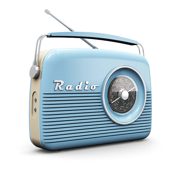 vintage radio - radio foto e immagini stock