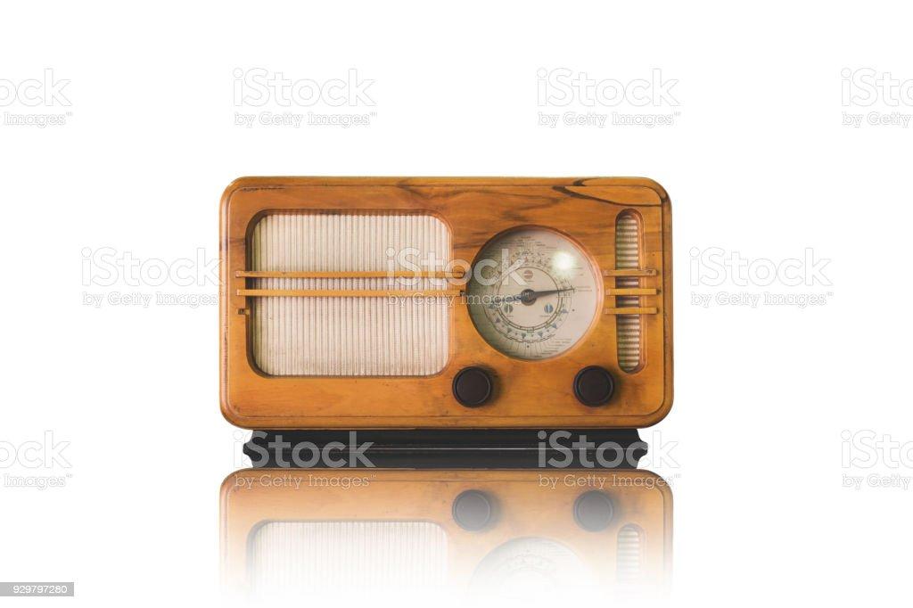 vintage radio - foto de stock