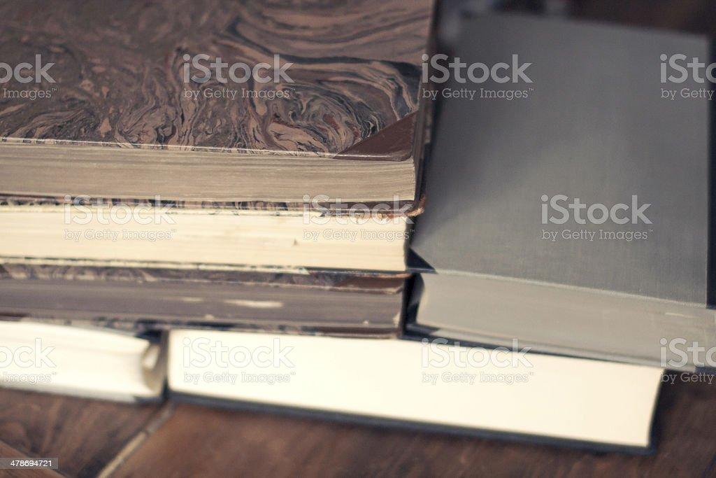 Vintage Reading royalty-free stock photo