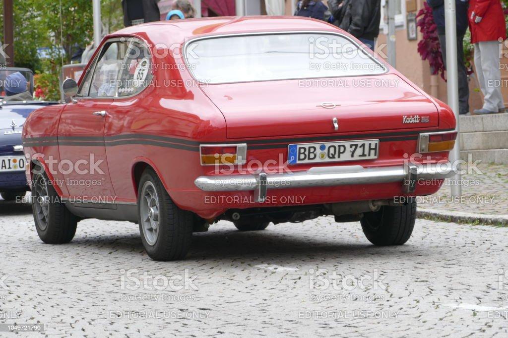 Vintage Red Opel Kadett Stock Photo Download Image Now Istock