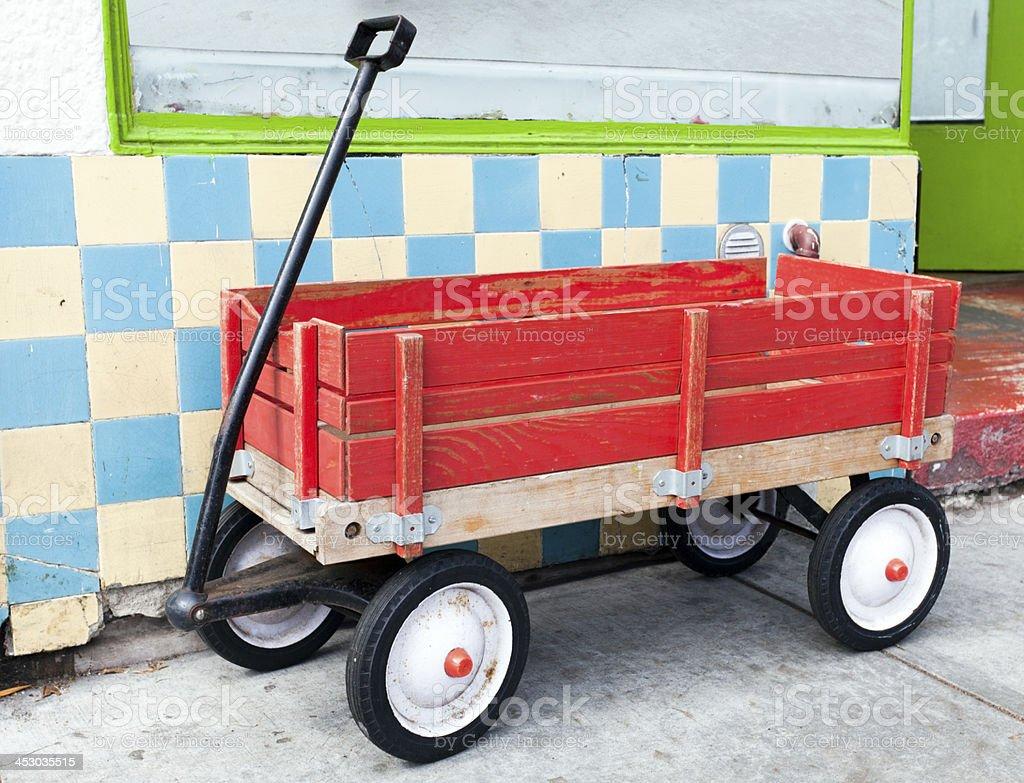 Vintage Red Wagon – Foto