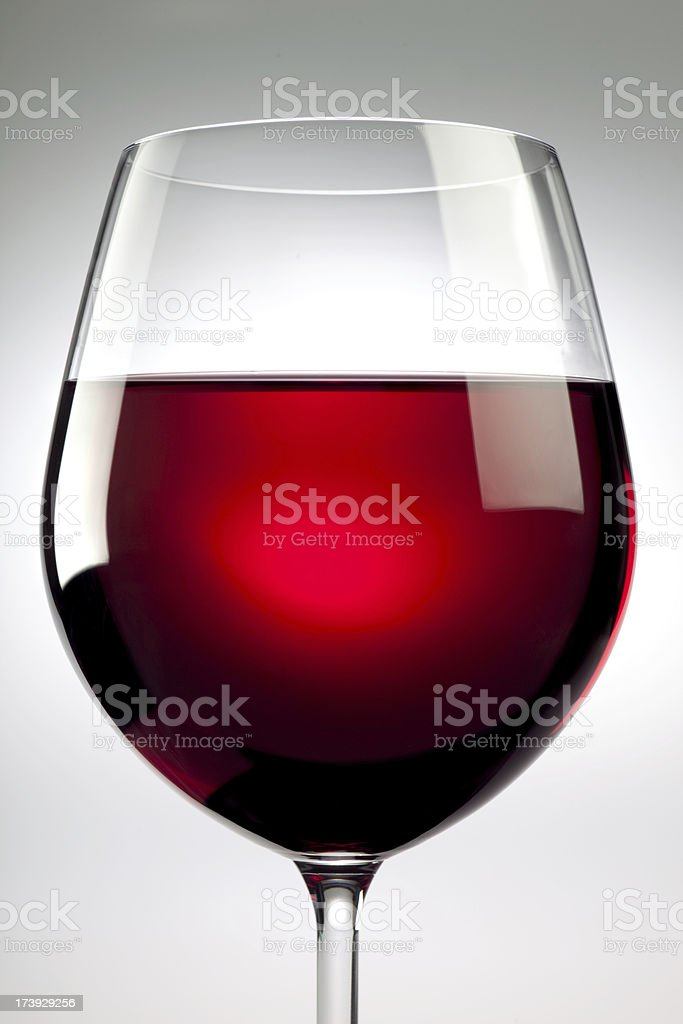 vintage red wine goblet close up royalty-free stock photo