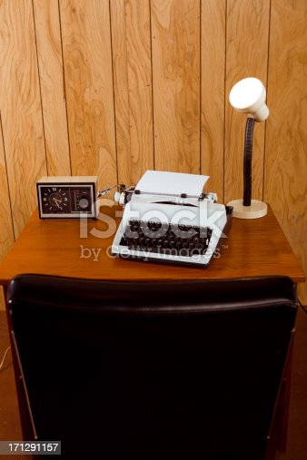 istock Vintage Retro 1970s Desk and Office 171291157