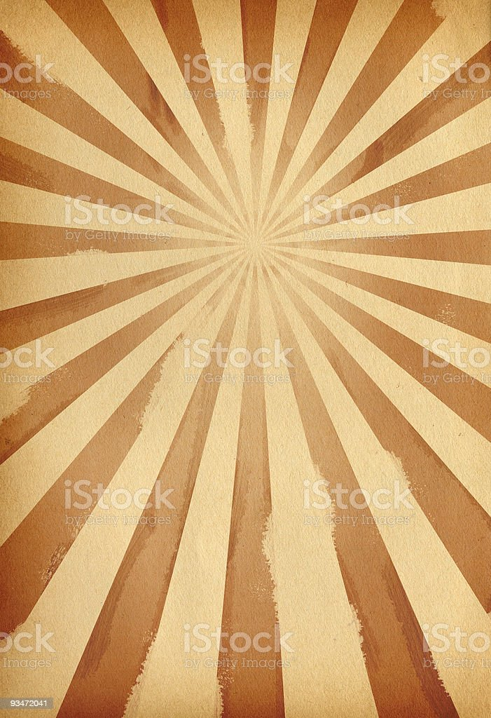 Vintage Retro Burst Background royalty-free stock photo