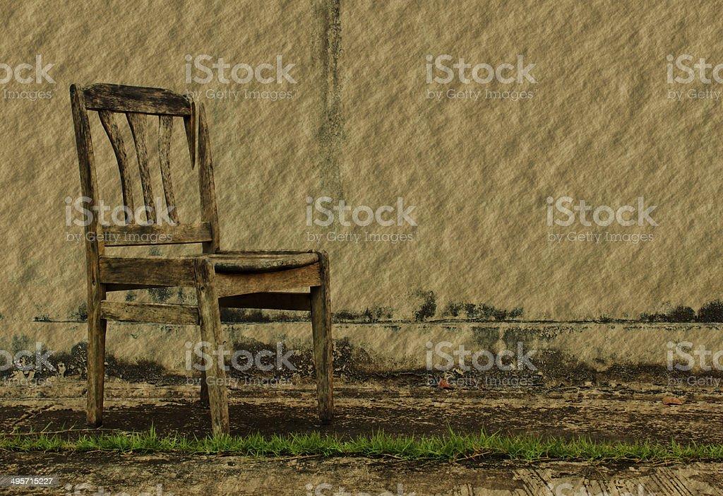 vintage retro chair royalty-free stock photo