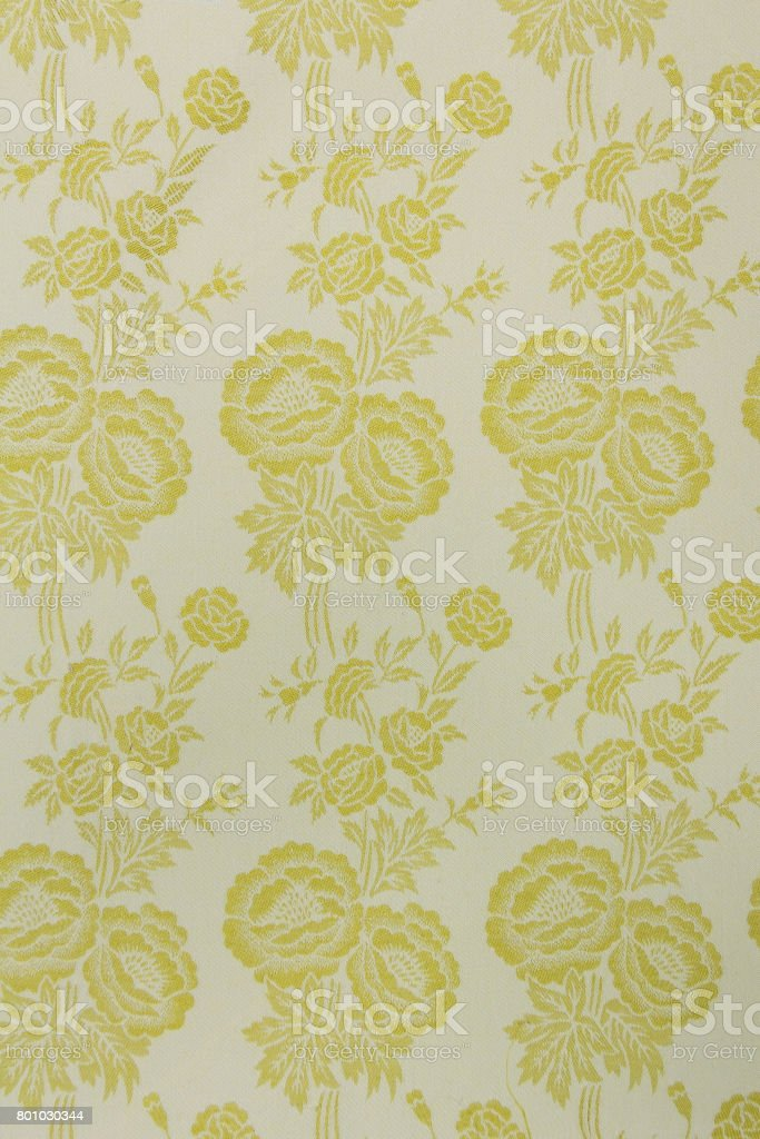 Vintage & Retro Fabric background image. stock photo