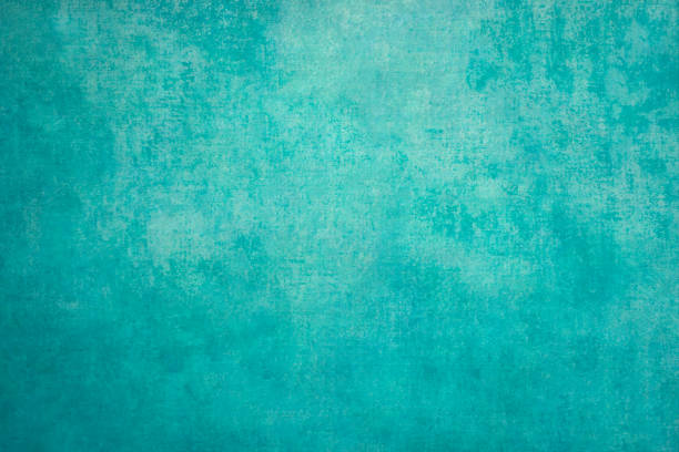 vintage retro grungy background - turquoise colored stock photos and pictures
