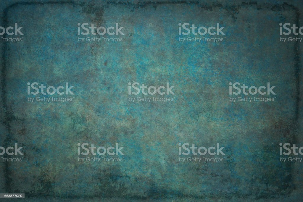 Vintage retro grungy background texture with frame. stock photo