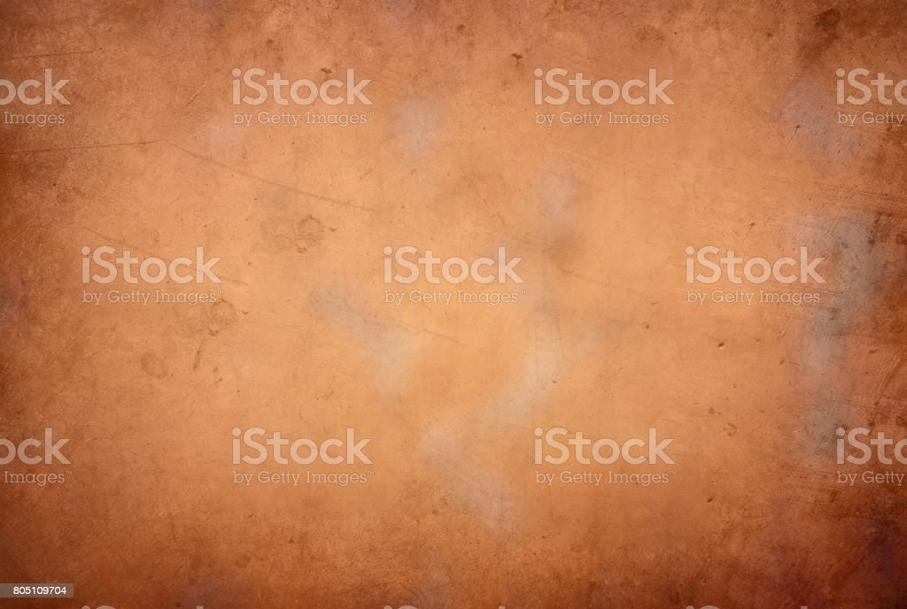 Vintage retro grungy background,golden color with textures stock photo