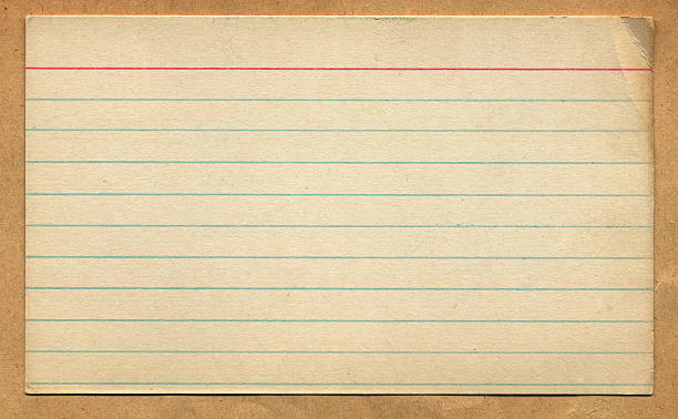 Best Index Card Stock Photos, Pictures & Royalty-Free Images