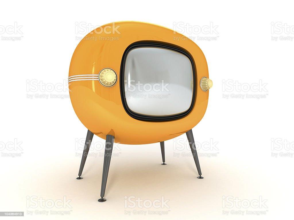 Vintage Retro-Fernseher – Foto