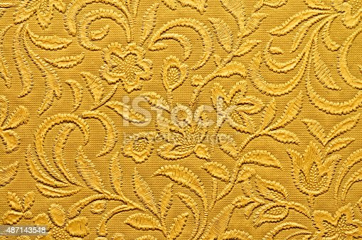 istock vintage retro wallpaper background 487143548