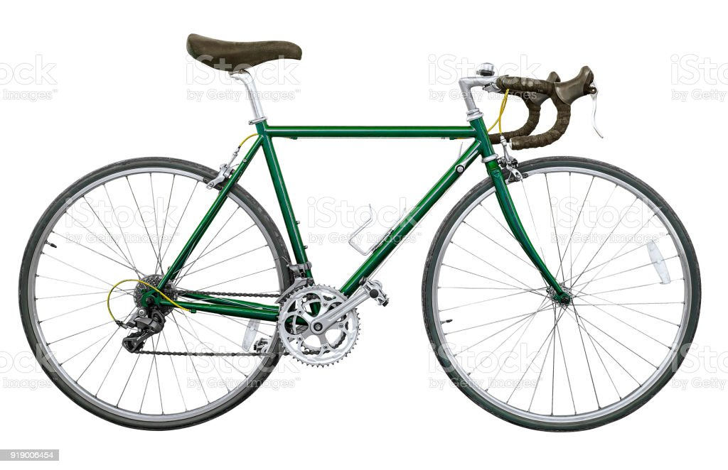 Vintage Road Bike Isolated Stock Photo Download Image Now Istock