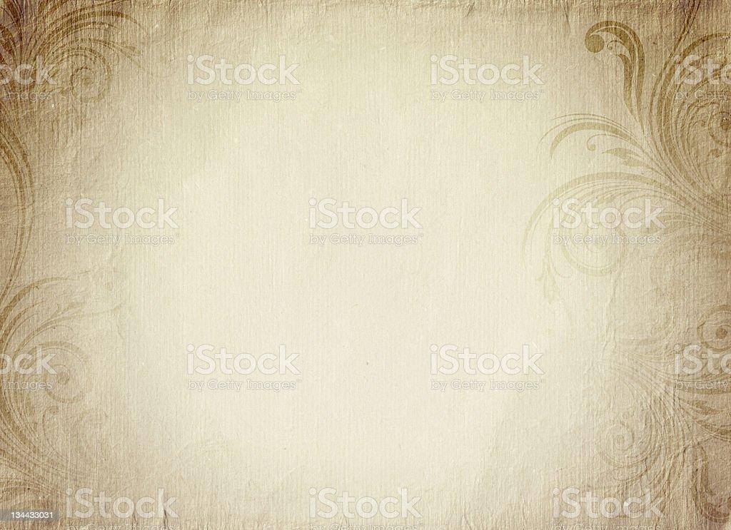 빈티지 낭만적임 종이 - 로열티 프리 고대의 스톡 사진