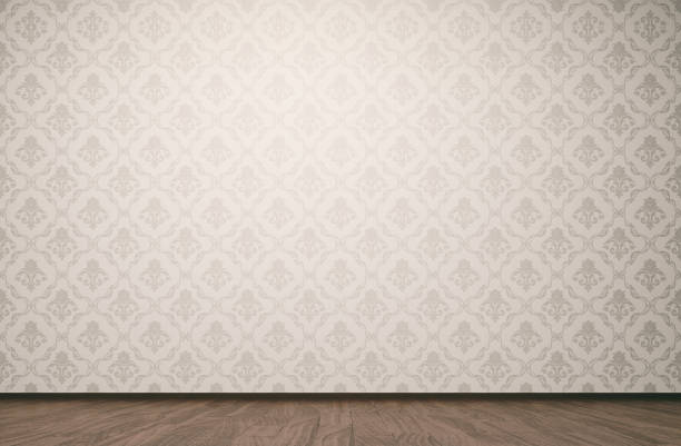 Vintage room background stock photo