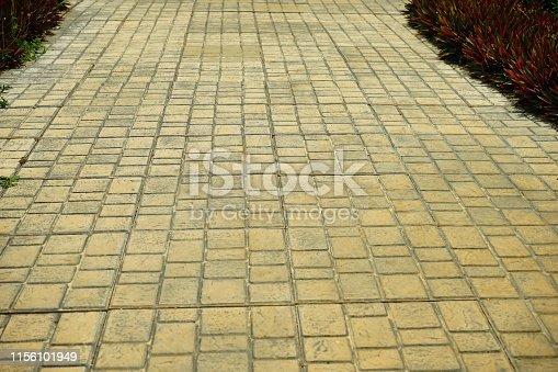 Thailand, Flooring, Stone Material, Road, Sidewalk, Street