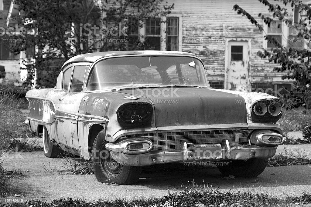 Vintage Rust stock photo