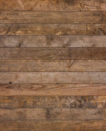Vintage rustic old wooden planks texture vertical background flat lay