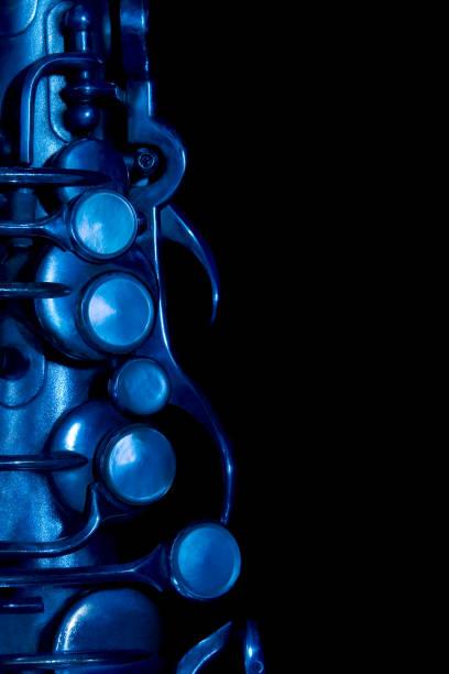 Vintage Saxophon-Detail – Foto