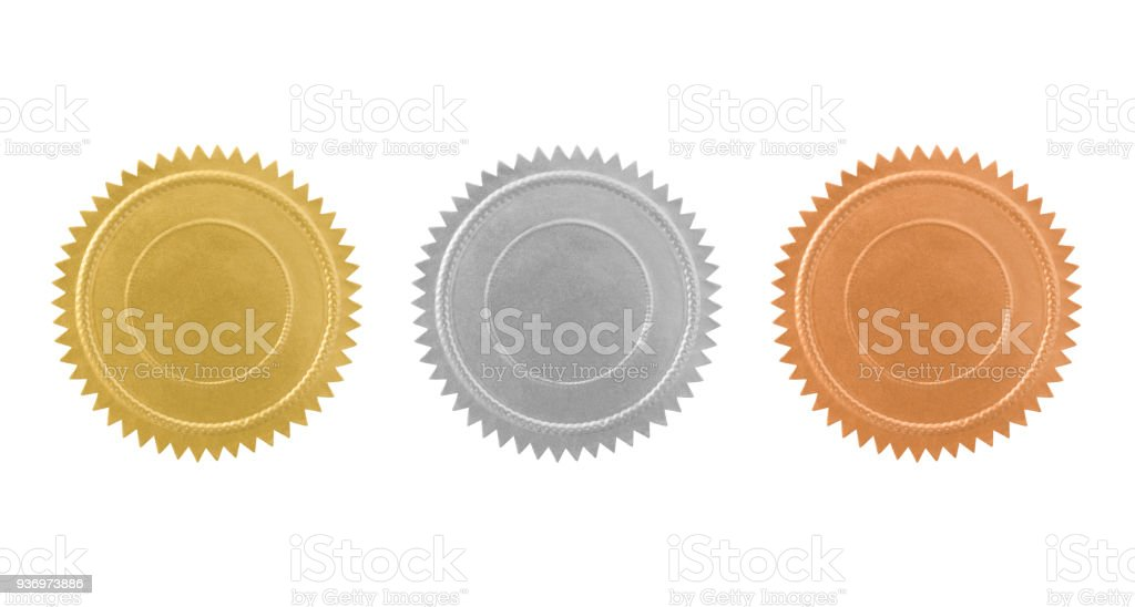 Vintage Seals Variation (with path) stock photo