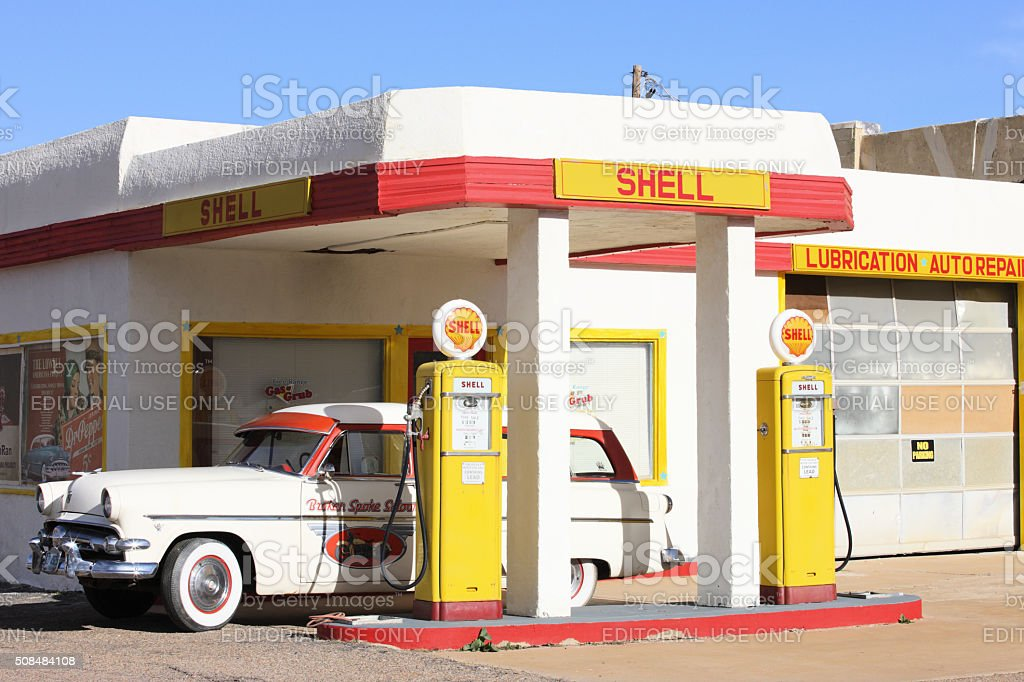Vintage Gas Station Pumps 3