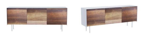 vintage sideboard isolated on white background with clipping path. 3d render. - sideboard imagens e fotografias de stock